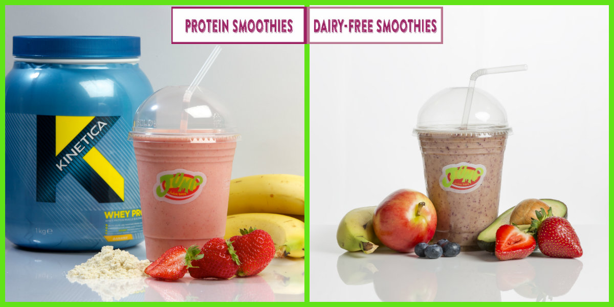dairy free smoothies