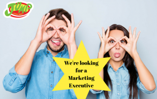 marketing executive role within the retail sector