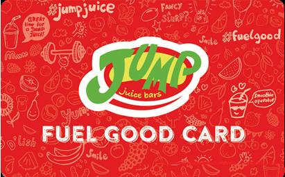 Jump Juice Loyalty Card
